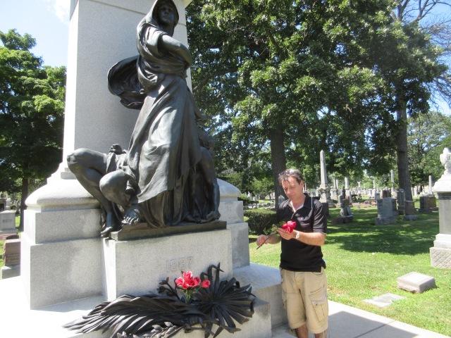 Eric Dussart - Haymarket Martyrs' Monument - cimetière de Forest Home - Forest Park (banlieue de Chicago)