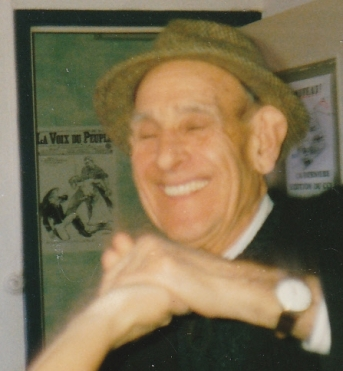 Mon camarade et ami José Faran en 1987 à Lille