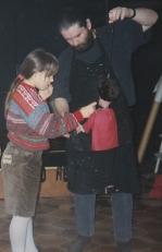 Chloé et Roger à Péruwelz en 1994