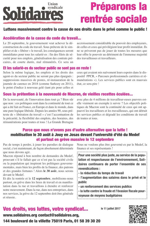 tract-us-solidaires-rentree-sociale-2017
