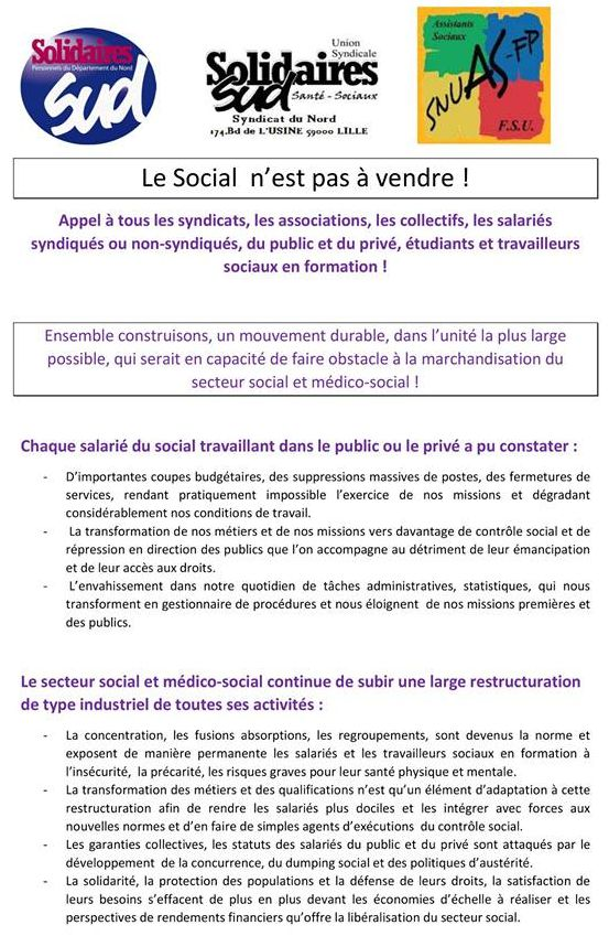 AG secteur social et médico-social 5déc2017Lille - tract page 01