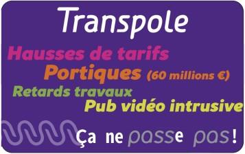 Transpole (hausse des tarifs, portiques, etc)