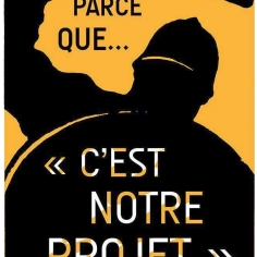 "Parce que ""c'est notre projet"" (Par @FredSochard)"