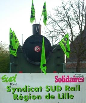 SUD Rail région de Lille
