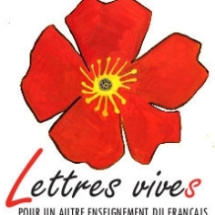 logo du collectif LETTRES VIVES