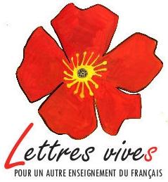 logo du collectif LETTRES VIVES