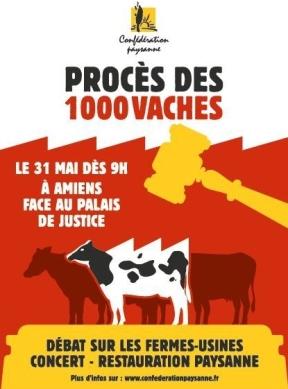 procès des 1000 vaches 31mai2018 Amiens