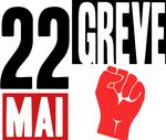 visuel SUD éducation pour la grève du 22 mai 2018