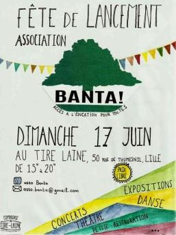 fête lancement association BANTA 17juin2018 Lille