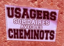 usagers solidaires avec cheminots