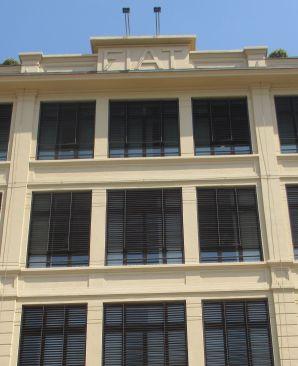ancienne usine Fiat de Turin