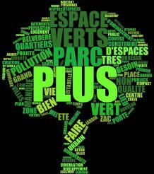 plus d'espaces verts
