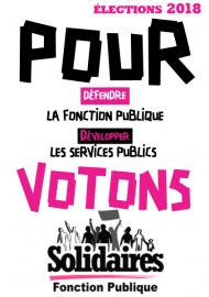 affiche-Solidaires-élections-pro-2018