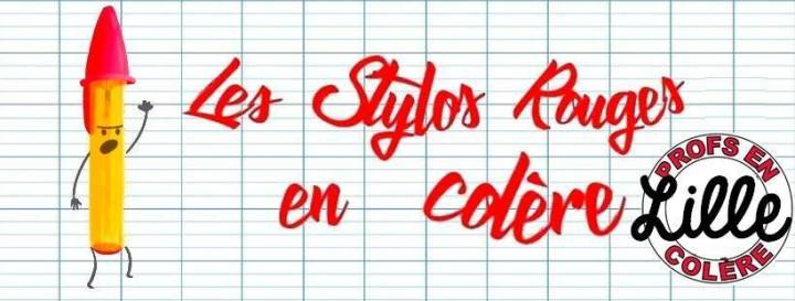 les stylos rouges en colère - lille