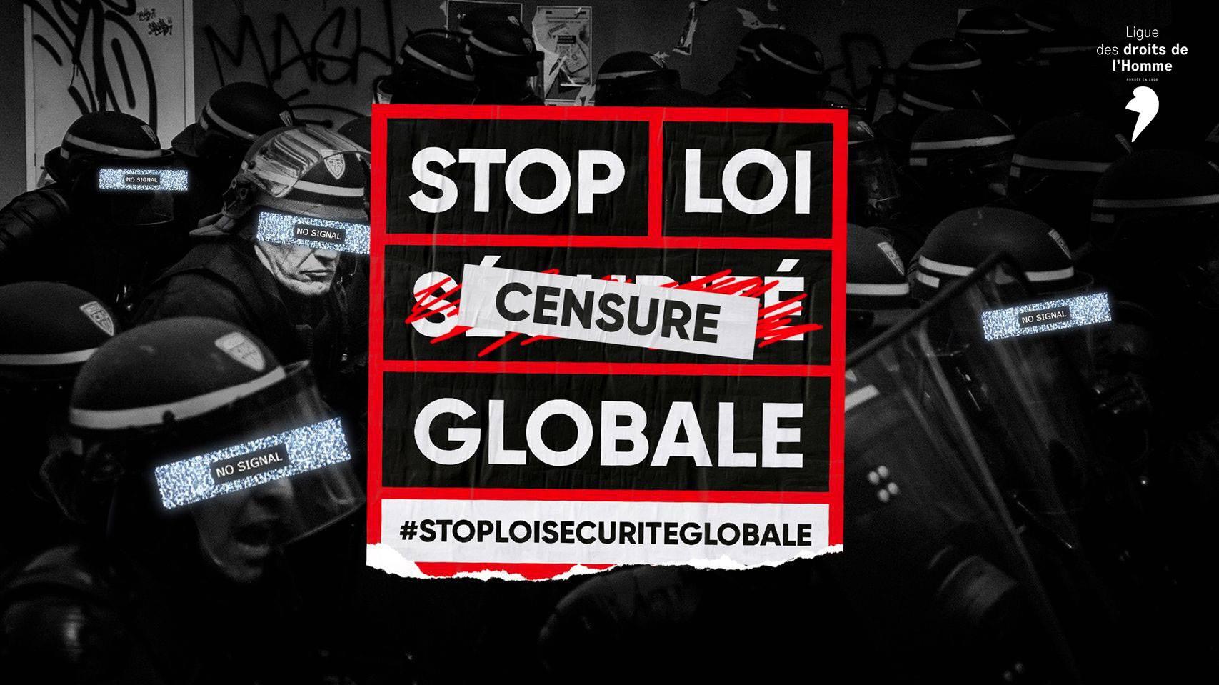 stop loi sécurité (censure) globale