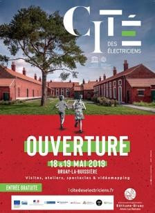 affiche-inauguration-cité-électriciens-bruay-la-buissière-18-19-mai-2019